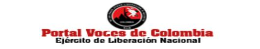 Voces de Colombia, portal del Ejército de Liberación Nacional